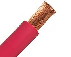 welding cable red