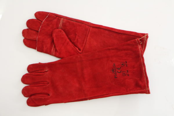 Pinnacle Red Lined Welding Glove